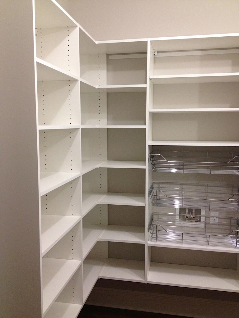 Pantry Affordable Closets