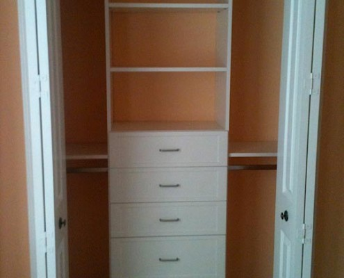 Affordable Closets Inc. Sarasota FL - Bedroom Closet Organization