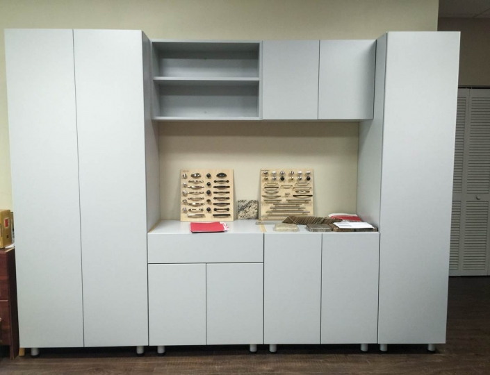 Large storage cabinets for your garage.