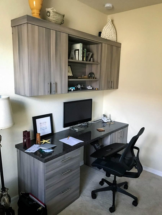 Get your work from home space organized and ready to working.