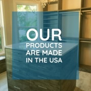 our custom closet and home organizing solutions are made in the USA